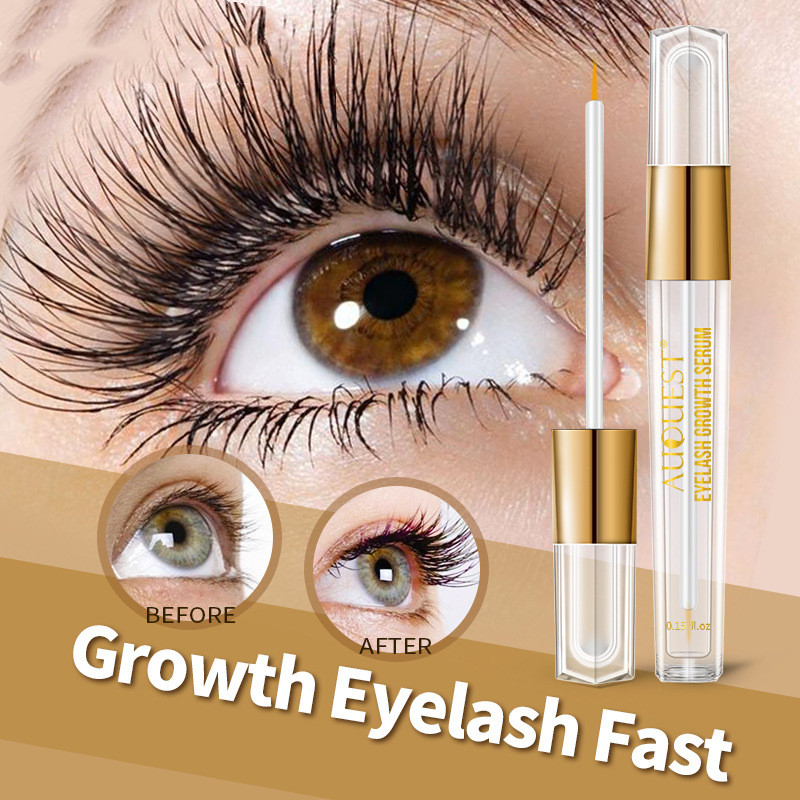 AuQuest All Natural Eyelash Growth Serum