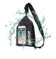PVC touch screen waterproof messenger bag