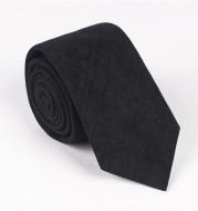 Solid color casual tie