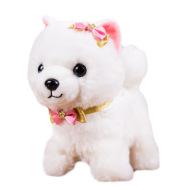 Simulation dog plush electric puppy