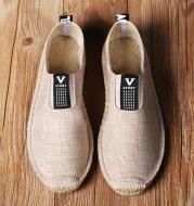 Korean casual linen shoes