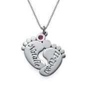 Customized eight-character necklace