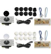 Button USB joystick control chip board accessories game set