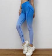 Gradient skinny yoga pants