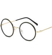 Round retro eyeglasses