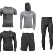 Sports suit fitness wear running training tight shorts