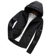 Hooded jacket men's casual