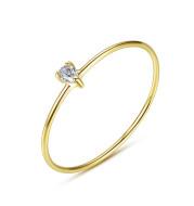 Fashion wild zircon ring
