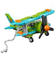 Granular building block toys