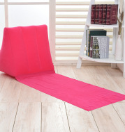 Inflatable triangle cushion