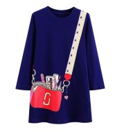 Baby girl clothes autumn and winter cotton children dress