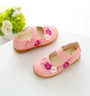 Baby soft bottom non-slip shoes