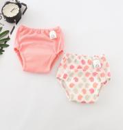 Baby cotton mesh four-layer gauze cloth diaper