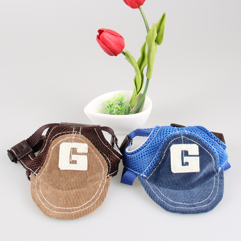 Clothing - G-shaped Embroidered Dog Baseball Hat