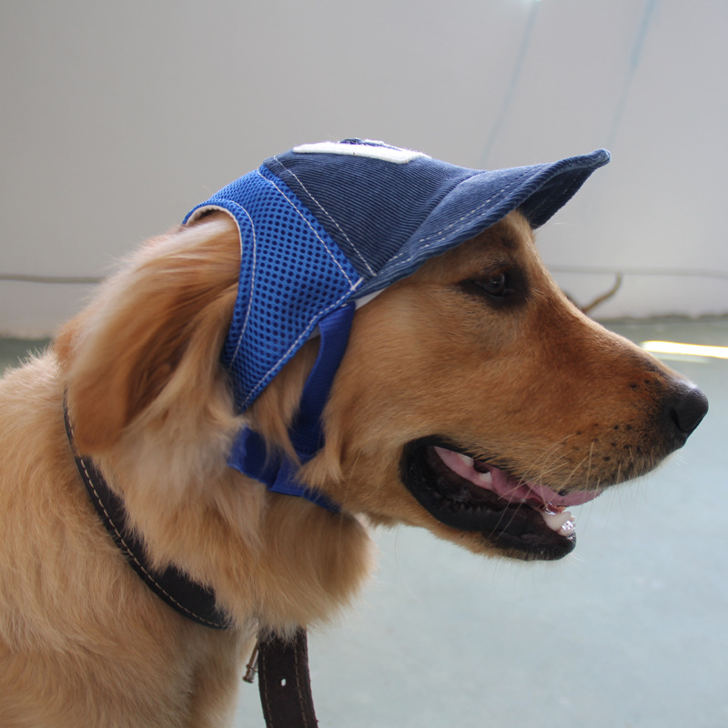 Mammal - G-shaped Embroidered Dog Baseball Hat