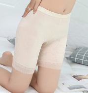 Ice silk high waist flat angle plus size leggings
