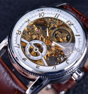 Leisure hollow automatic mechanical watch