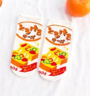 Female summer cartoon socks
