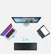 2.4G wireless keyboard with touchpad