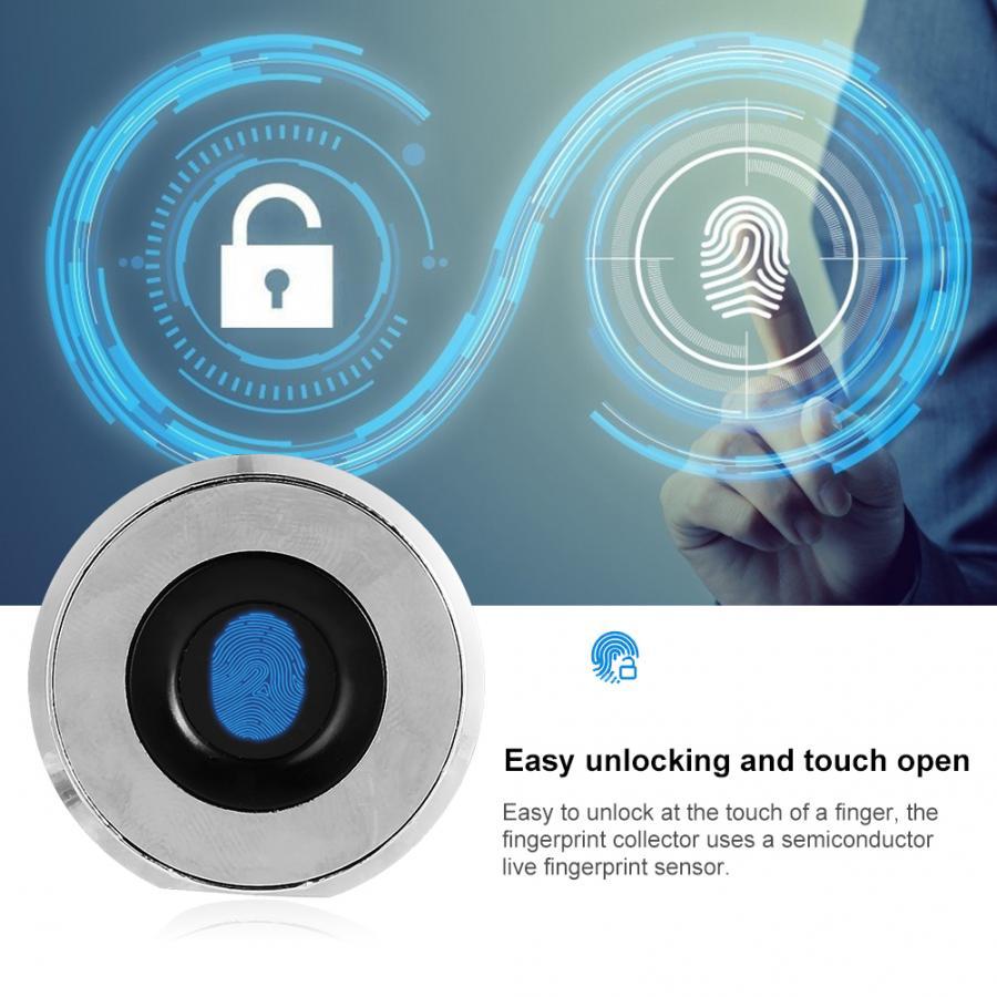 Stainless Steel Fingerprint Drawer-Lock