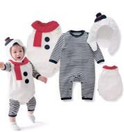 Christmas snowman costume jumpsuit