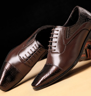 Business leather shoes