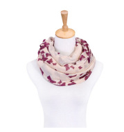 Butterfly print sunscreen scarf