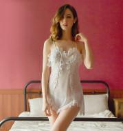 Rose Lace Sexy pajamas