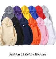 Sweatshirt pullover solid color sweater