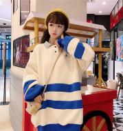 Korean style loose Harajuku lazy wind jacket