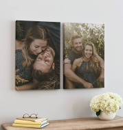 Personalized Family Pet Photo on Canvas Posters Wall Paintings Print