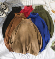 Autumn and winter turtleneck sweaters