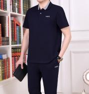 Men's cotton short sleeve pants