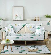 Summer washed ice silk sofa cushion