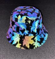 Colorful Maple Leaf Outdoor Reflective Cap
