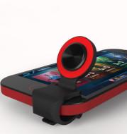 Flip handle joystick positioning artifact