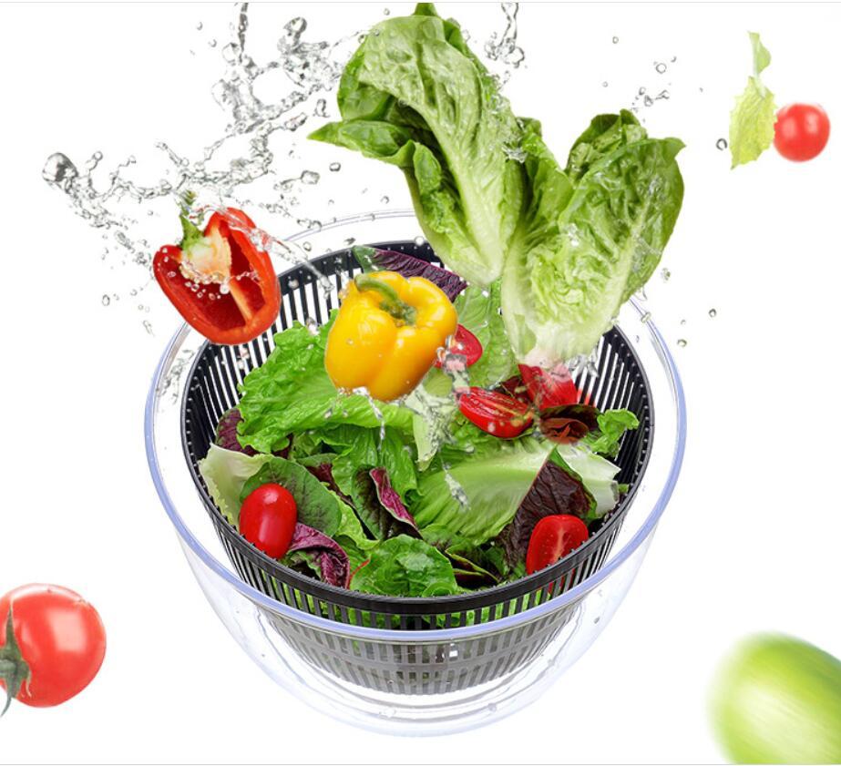 Essoreuse à salade 2 en 1