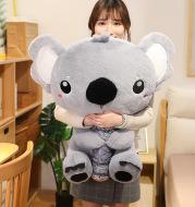 Tree post koala doll plush toy pillow