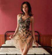 Plus size sexy pajamas set
