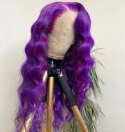 Purple big wave hood
