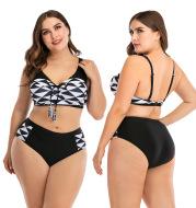 Big cup ladies swimsuit swimwear