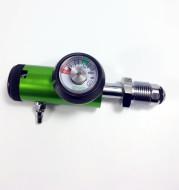Medical oxygen regulating valve