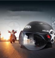 Electric car helmet unisex