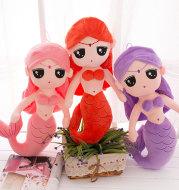 Mermaid Princess Plush Toy Doll