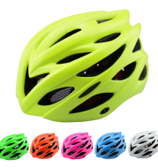 Bicycle integrated riding helmet