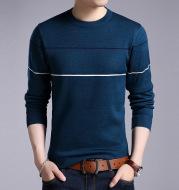 Men's Plush warm knit sweater