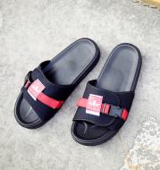 Summer wear flat canvas slippers