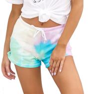 Casual tie-dye shorts