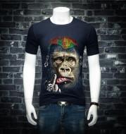 3D short sleeve T-shirt men