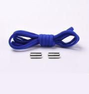 Semicircular metal capsule lazy shoelace